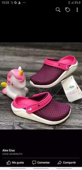 Crocs importada para niños y niñas
