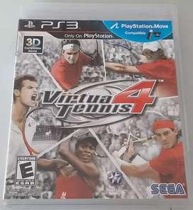 Remato Juego de PS3 Virtua Tennis 4