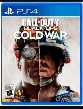 Se vende call of duty cold war ps4