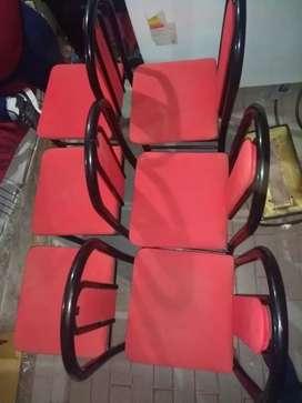 Vendo sillas