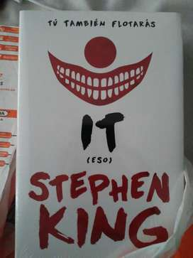 Libro It Stephen King (nuevo).
