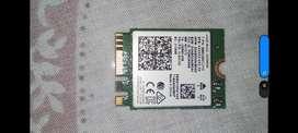 VENDO TARJETA WIFO MARCA INTEL (MODELO 8265NGW) M.2 NGFF 2.4/5Ghz 4,2 de Bluetooth Wireless WIFI 867 Mbps
