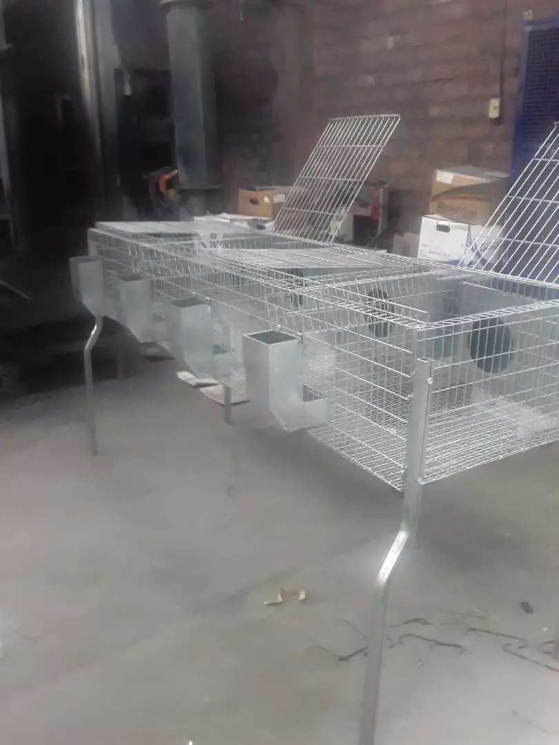Jaulas para conejos modelo rabbits 0