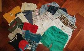 Vendo ropa de niño entre 3 y 5 años, dependiendo del niño