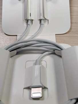 Audífonos Apple Lightning con Adaptador