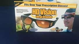 Gafas Hd Vision Wrap Arounds Lentes Para Dia Y Noche