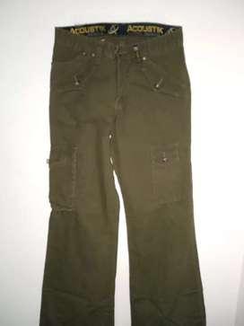 Vendo pantalones drill