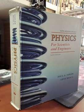 Fisica de tipler sexta edición pasta dura en inglés color muy buen estado