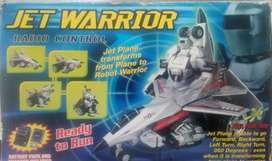 Avión Robot convertible a control remoto y bateria
