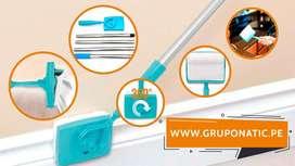 Limpiador De Paños De Felpa Para Esquinas Gruponatic La Molina Whatsapp 941439370