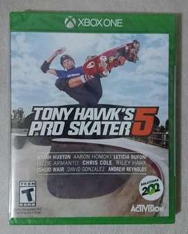 NUEVO Tony Hawk's Pro Skater 5 Xbox One