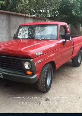 Vendo camioneta F100