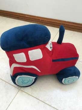 Almohadón Tractor. Líquido