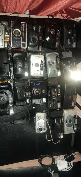 Vendo lote de cámaras antiguas