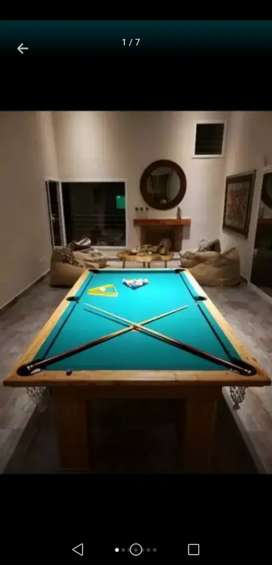 Mesa de pool nuevas!