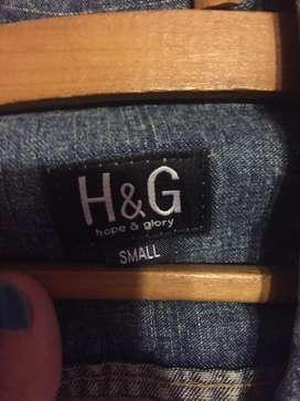 Campera de jean H&G talle S