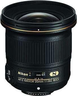 Lente Nikon 20mm f/1.8