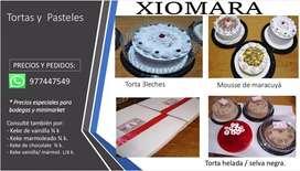 Tortas y pasteles  Xiomara