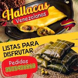 Hallacas venezolanas