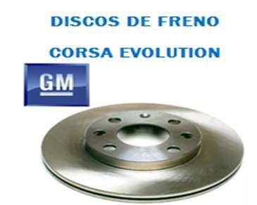 JUEGO DISCOS FRENO CORSA EVOLUTION  80 0
