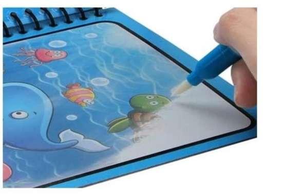 Libro Magico, (cuaderno Magico Con Lapiz Base De Agua) 0