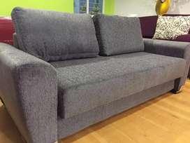 Sofa cama 2 plazas chenille
