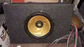 "Vendo wofer de 12"" doble bobina"