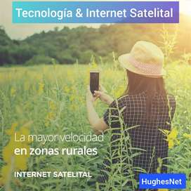 SERVICIO DE INTERNET SATÉLITAL - HUGHESNET