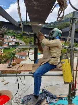 Soldadura  fabricación y mantenimiento de estructuras metalicas
