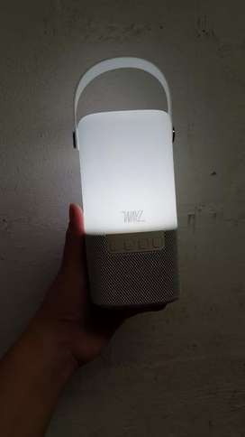 Bocina Bluetooth con lampara LED