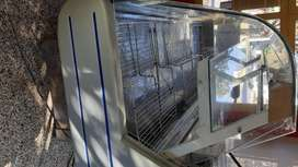 Venta de heladera Batea vidrio curvo