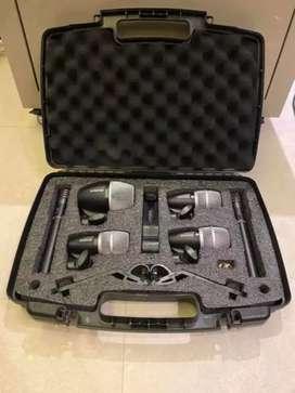 Microfonos Shure para bateria