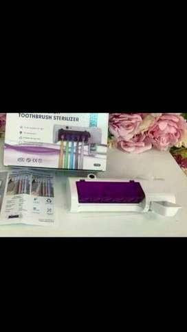 Disponible: Esterilizador de cepillo dental + dispensador de pasta