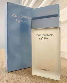 Perfume Light Blue D&G dama