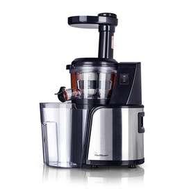 Extractor de jugos Low Speed Juicer –  Chef Master Negro