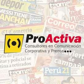 PERIODISTA PRACTICANTE - AREQUIPA