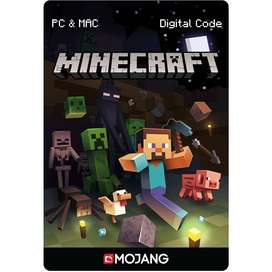 Minecraft Premium - Java edition + Gratis Minecraft Windows 10 edition