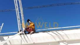 METAL WELD SAC/techos metálicos, parabólicos, construcción metálica, estructuras en general