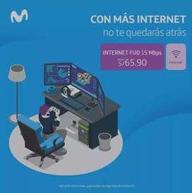 CONTRATA INTERNET ILIMITADO DESDE 65.90