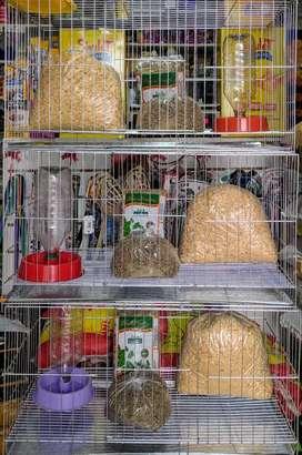 Jaulas completas reforzadas para conejos