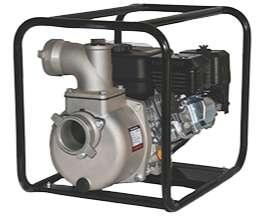 Motobomba Gasolina  de caudal en aluminio autocebantes