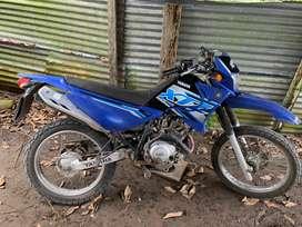 Vendo Moto Yamaha xtz 125 al dia  en todo segundo dueño placa termina en 3
