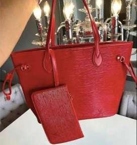 Bolso color rojo