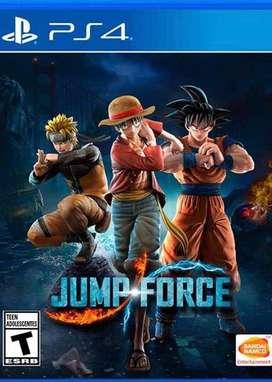 Juego jump force ps4