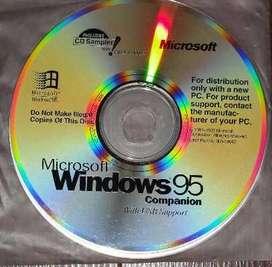 CDS Microsoft Windows 95 con holograma