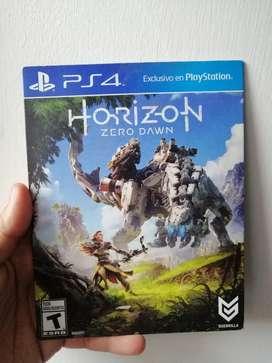 Horizon Zero Dawn PS4 Original, en PERFECTO ESTADO