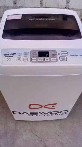 Lavadora Daewoo 7.5 kilos