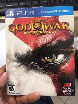 Vendo  god of war 3 remastered