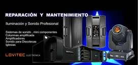 Servicio Técnico equipos de sonido