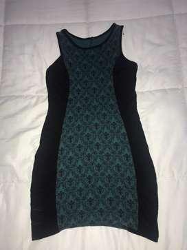 Vestido señorial medio largo